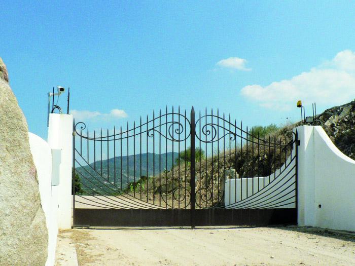 Popolare Ziranu Salvatore - Cancello in ferro zincato modello Gaulois GO45