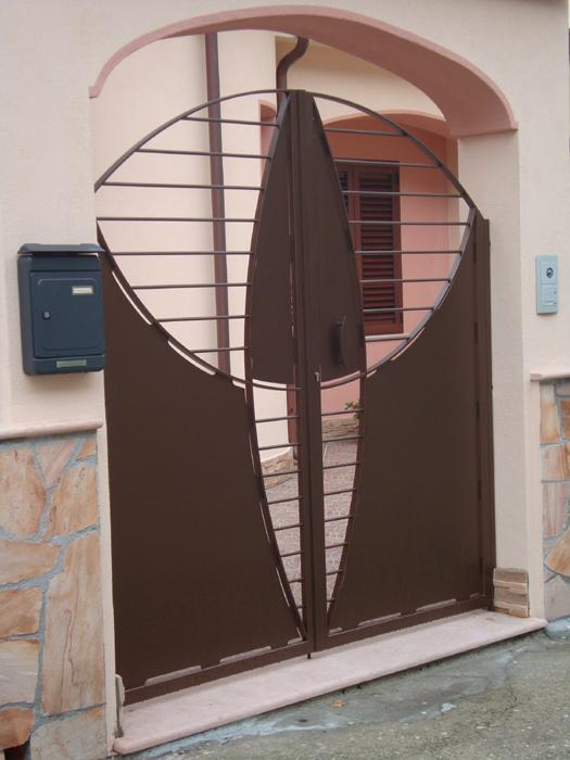 Ziranu salvatore cancello in ferro modello luisa for Lance per cancelli in ferro