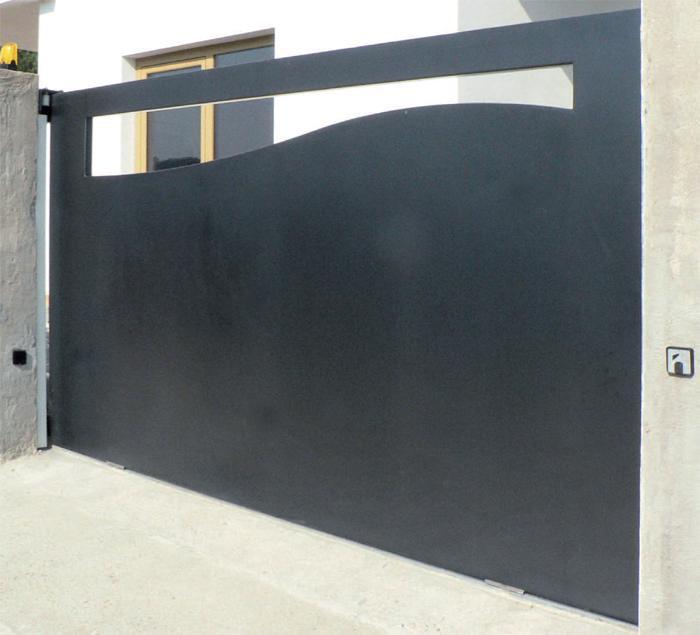 Conosciuto Ziranu Salvatore - Cancello in ferro zincato modello Lagrange KG59